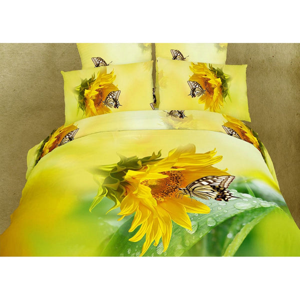 Butterfly Kisses Queen Size Bedding Set