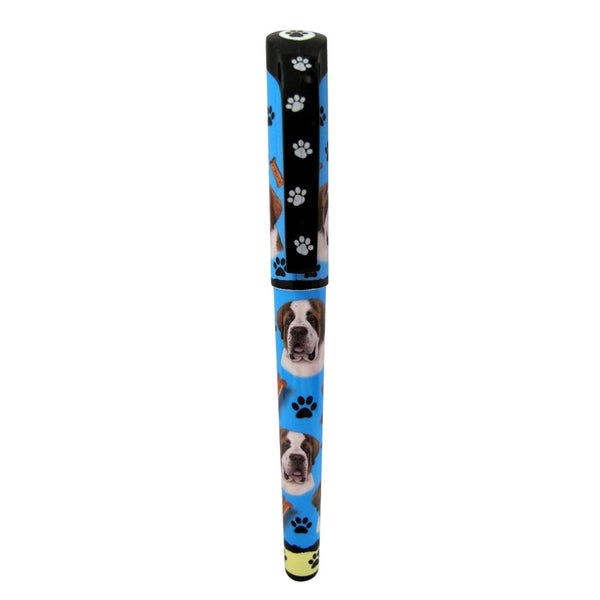 Saint Bernard & Paws Refillable Gel Pen
