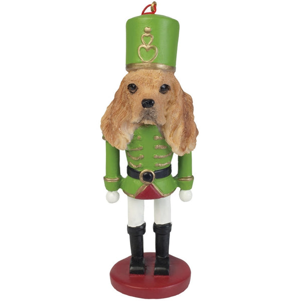 Cocker Spaniel Nutcracker Christmas Ornament