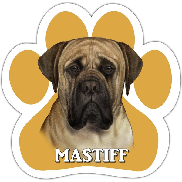 Mastiff Paw Shaped Car Magnet