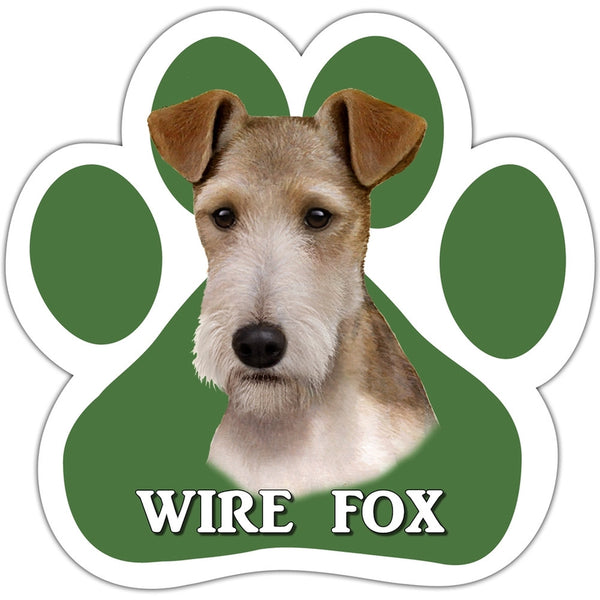 Wire Fox Paw Shaped Car Magnet
