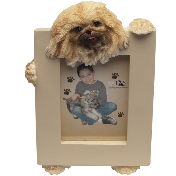 Pekingese Holding Frame Small Picture Frame