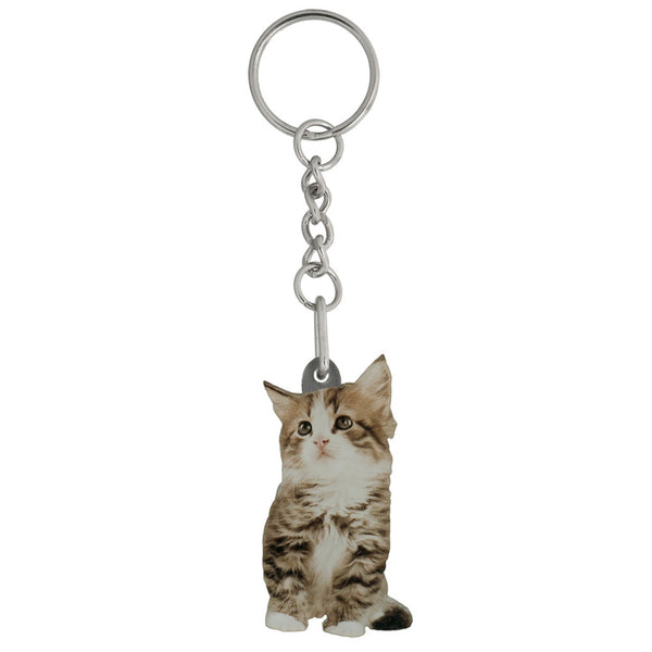 Sophie the Kitten Mirrored Acrylic Keychain