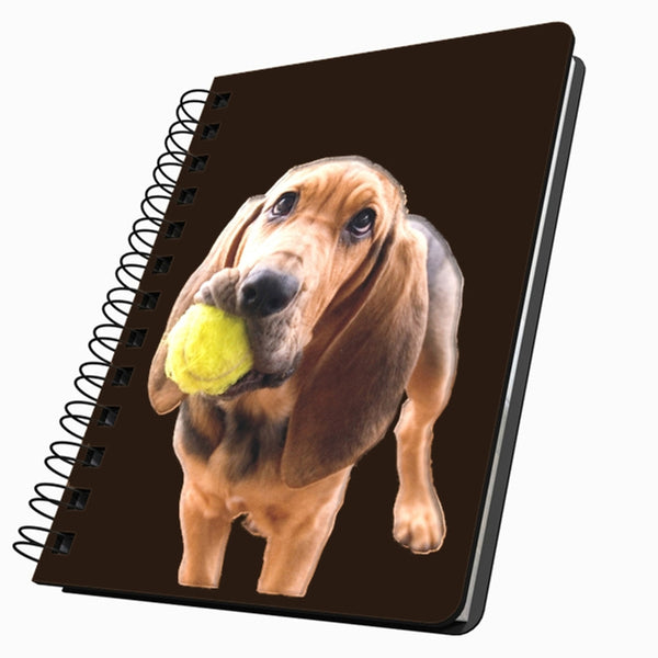 Bloodhound With Ball Small Acrylic Journal