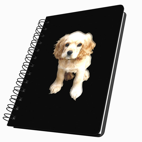 Cocker Spaniel Puppy Medium Acrylic Journal