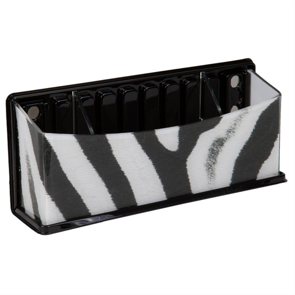 Zebra Pattern Fun Caddy Basket