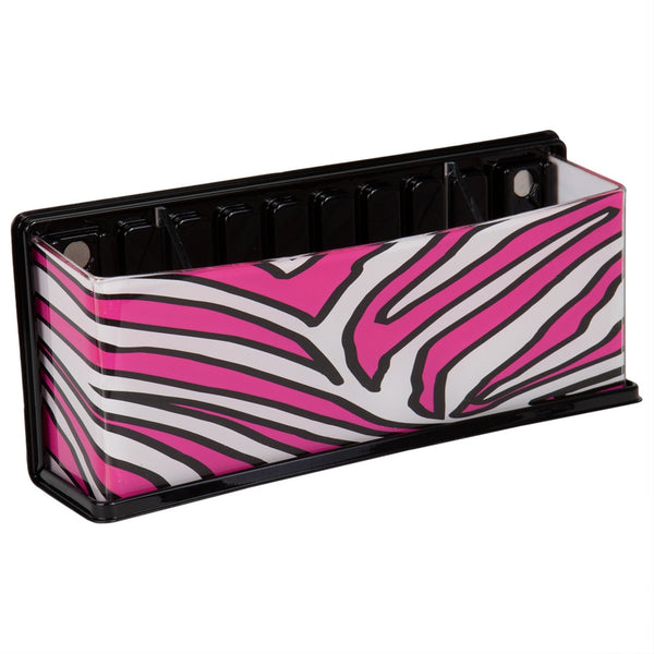 Pink Zebra Pattern Fun Caddy Basket