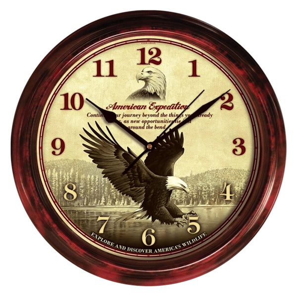 Bald Eagle Signature Series Wall Clock