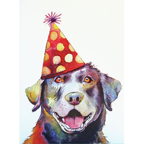 Labrador Labby Birthday Greeting Card