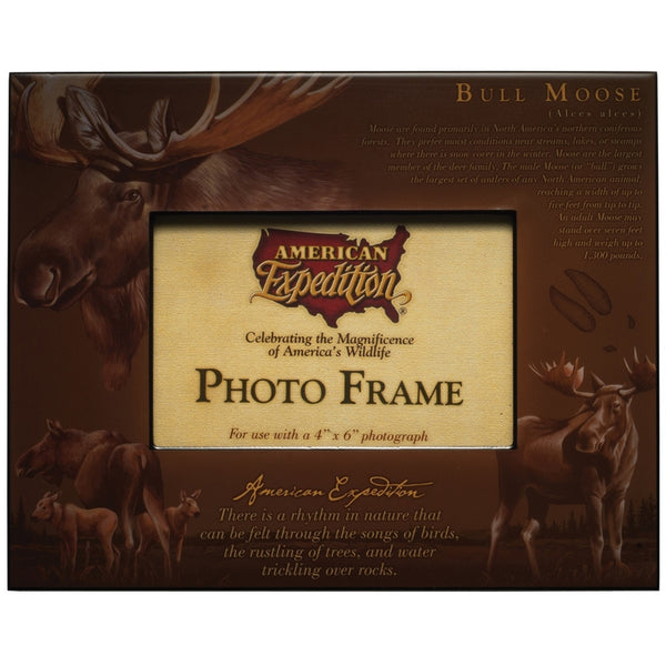 Bull Moose Photo Frame