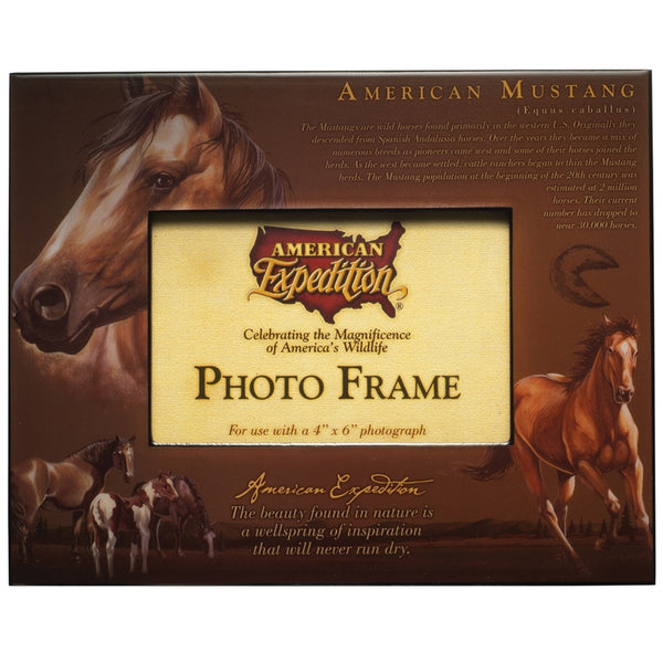 American Mustang Photo Frame