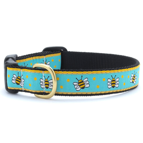 Bees Dog Collar