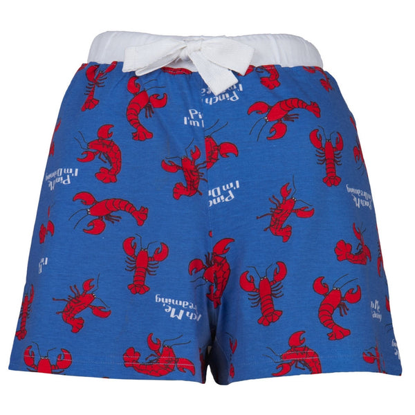 Lobster Pinch Me I'm Dreaming Women's Boxer Shorts