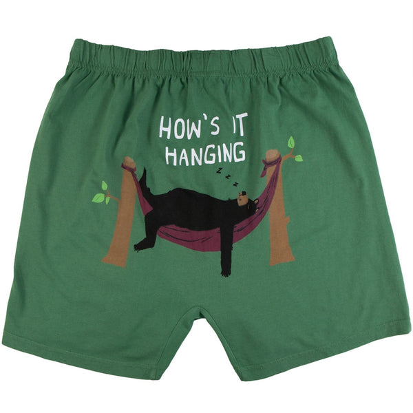 Bear How's It Hanging Men's Boxer Shorts