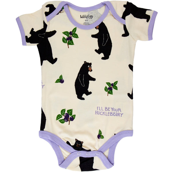 Bear Hucklebeary Baby One Piece
