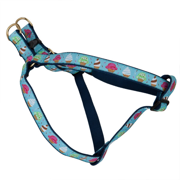 Ice Cream Scoops Dog Harness