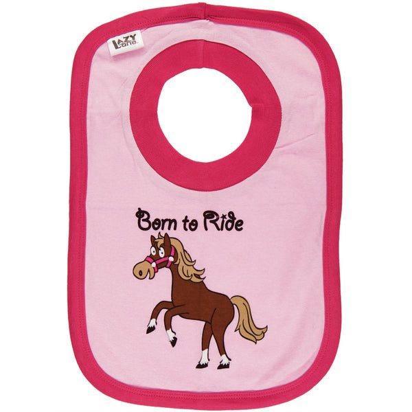Horse Born To Ride Bib