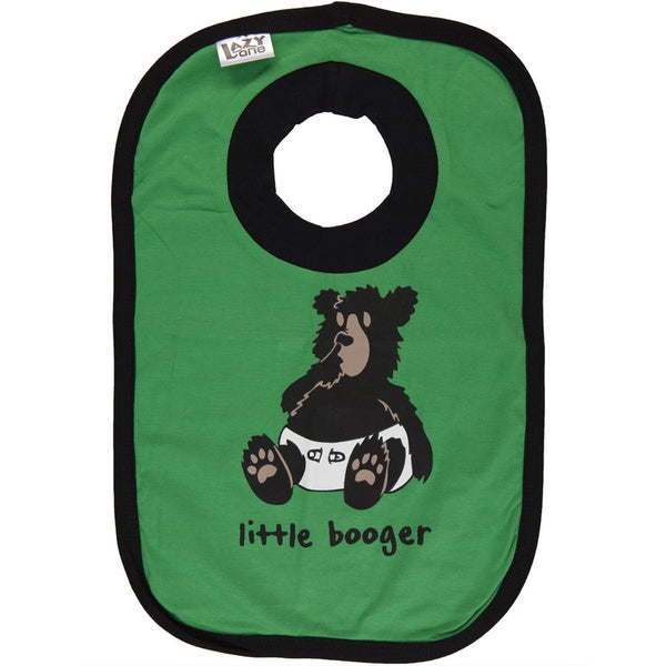 Bear Little Booger Bib