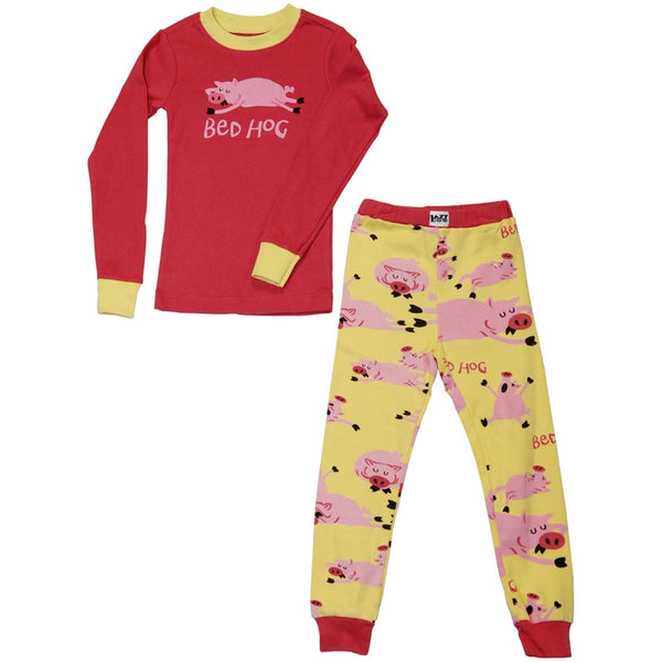 Bed Hog Toddler Long Sleeve Pajama Set
