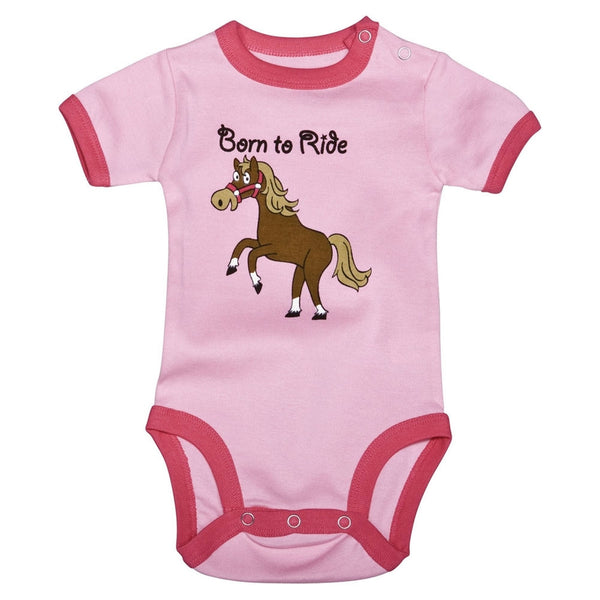 Horse Born To Ride Baby One Piece