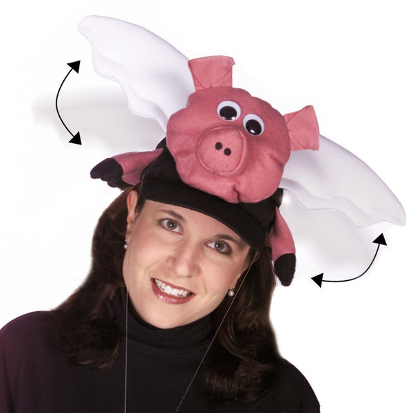 Flying Pig Hat