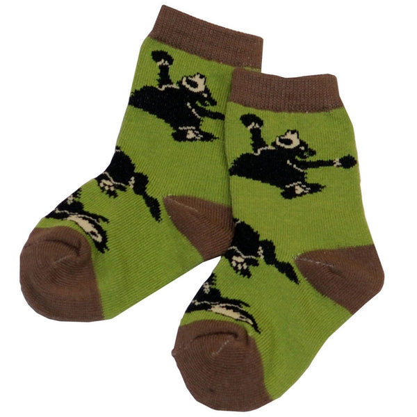 Bear Bearly Awake Kid's Socks