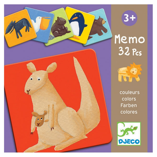 Memory Cards Animal Game