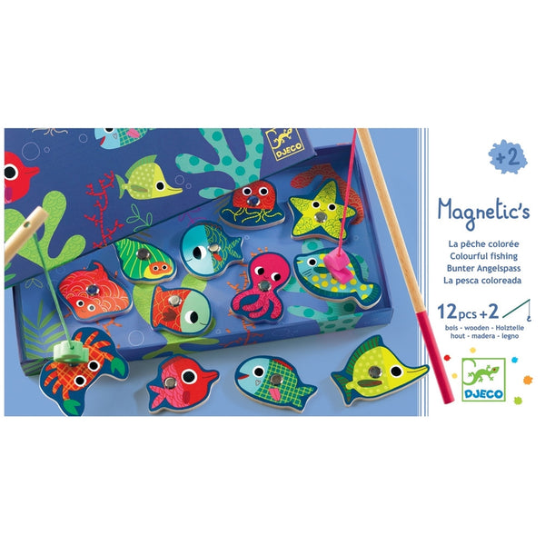 Colorful Fish Fishing Game