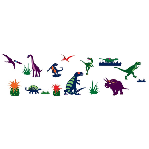 Dinosaurs Re-Positionable Wall Stickers
