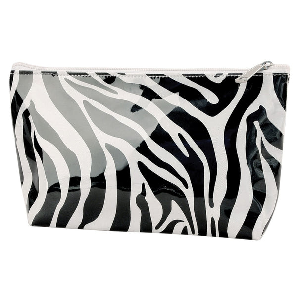 Zebra Small Cosmetic Bag