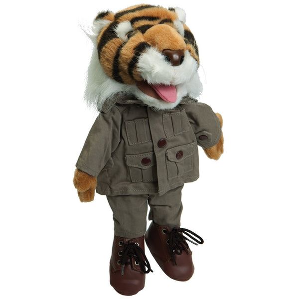 Tiger Safari Glove Puppet