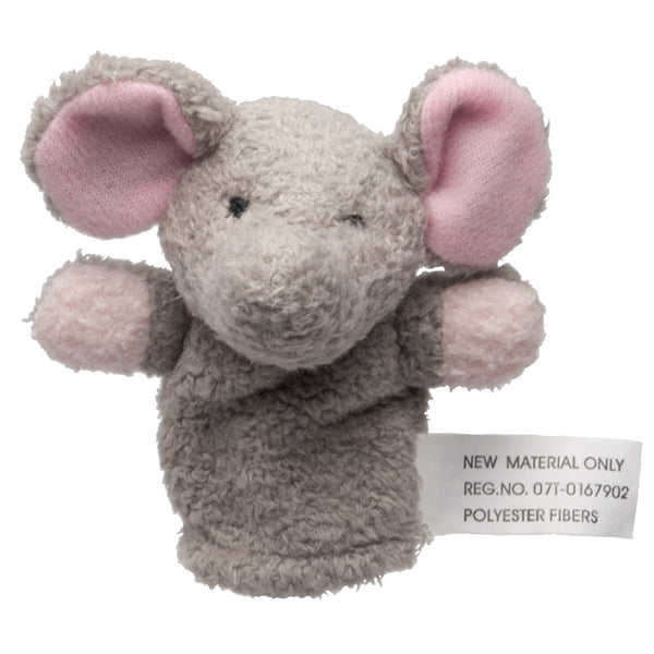 Elephant Plush Finger Puppet