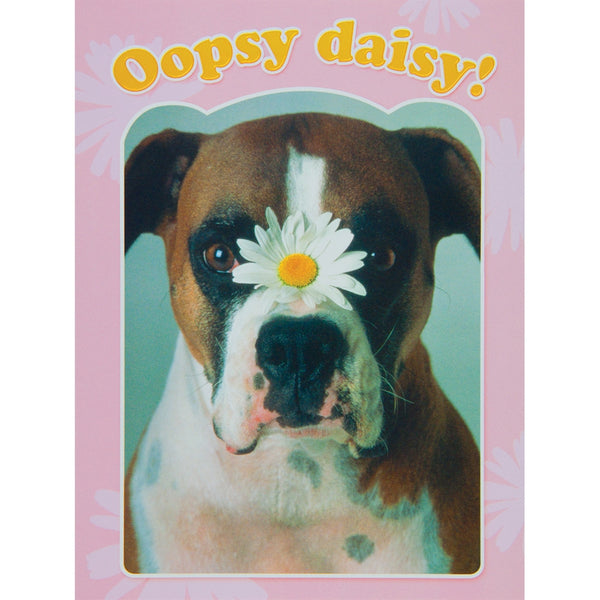 Oopsy Daisy! Forgot Your Birthday Greeting Card
