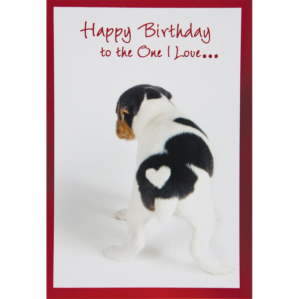 From the Bottom of My Heart Birthday Greeting Card