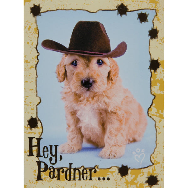 Hey Pardner Birthday Greeting Card