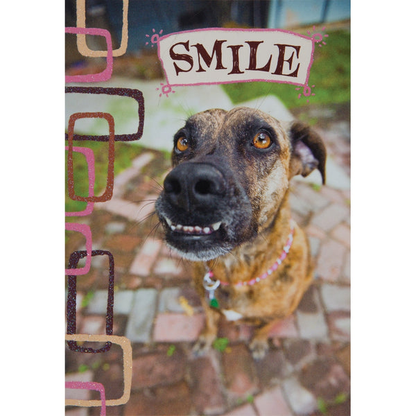 Smile Birthday Greeting Card