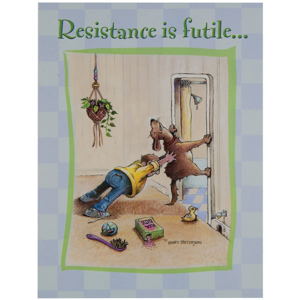 Resistance Is Futile Birthday Greeting Card