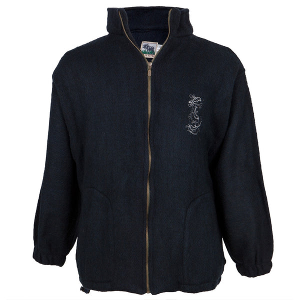 Dolphins Embroidered Woven Jacket