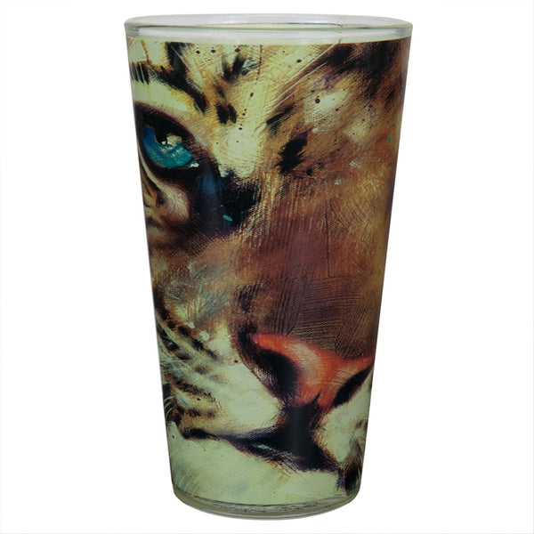 Stephen Fishwick Baby Tiger Pint Glass