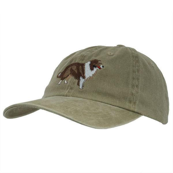 Shetland Sheepdog Adjustable Baseball Cap