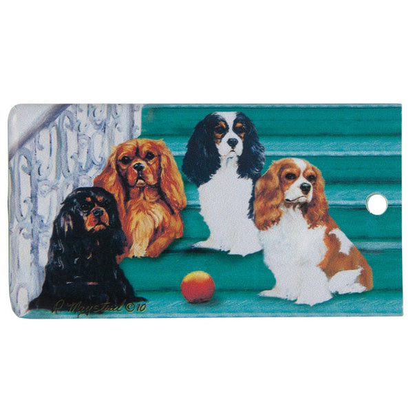 Cavalier King Charles Portrait Bag Tag