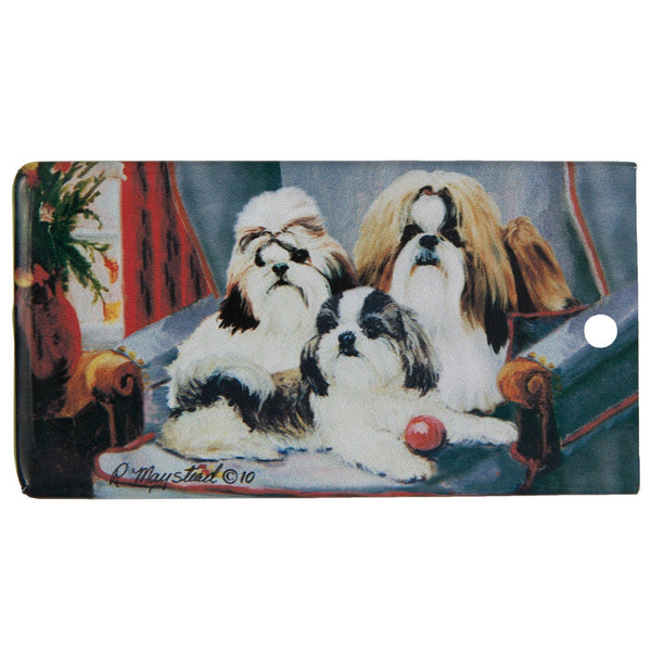 Shih Tzu Portrait Bag Tag