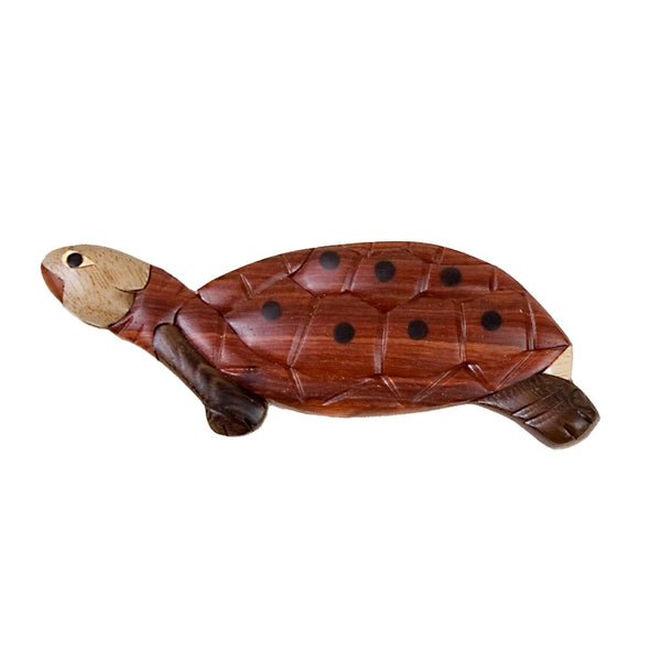 Turtle Wooden Magnet