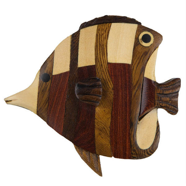 Angelfish Wooden Magnet