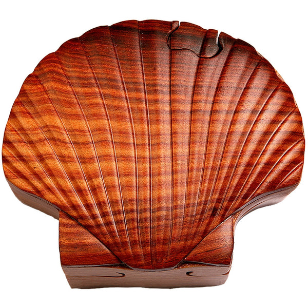 Shell Wooden Puzzle Box