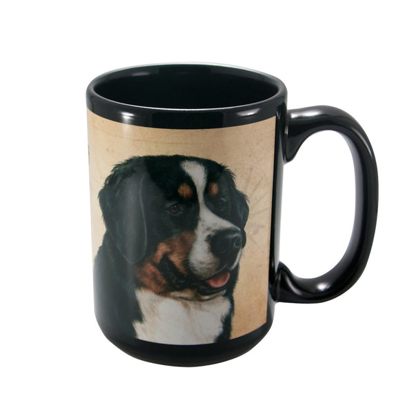 My Faithful Friend Bernese Mountain Dog Coffee Mug