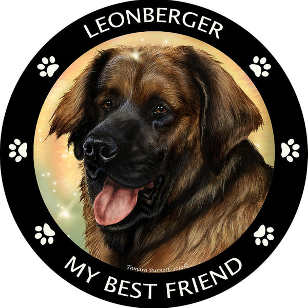 Leonberger My Best Friend Magnet