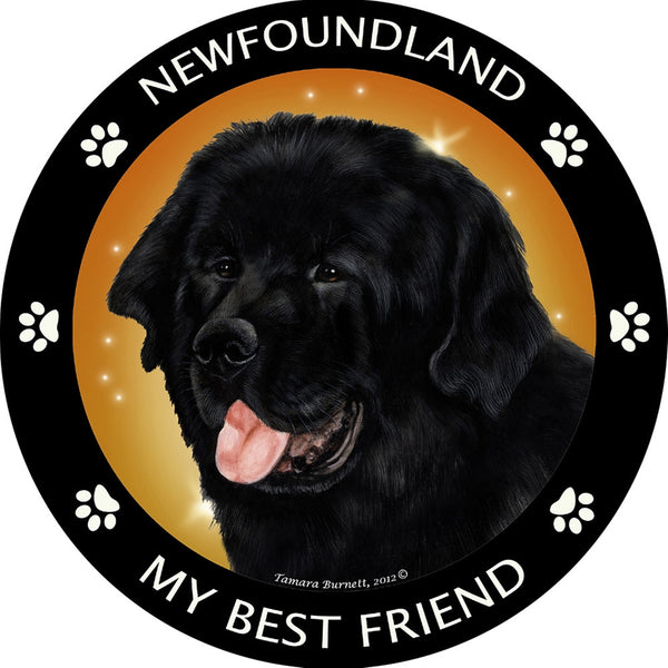 Newfoundland My Best Friend Magnet