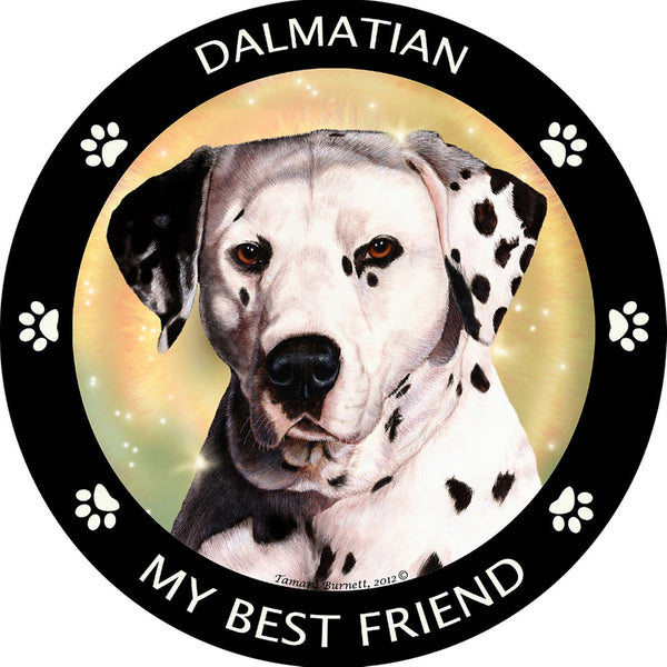 Dalmatian My Best Friend Magnet