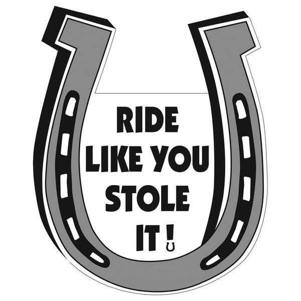 Ride Like You Stole It Magnet
